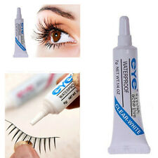 1x Clear White Waterproof False Eyelashes Makeup Adhesive Eye Lash Glue