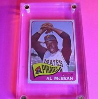 1965 TOPPS #25 Al McBean Pirates NM NrMt High Grade