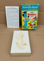Vintage Huckleberry Hound My First Numbers And Counting ED-U-CARDS Flash Cards