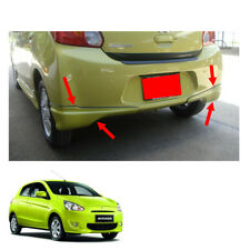 Rear Skirt V1 Trim Painted 2 Pc For Mitsubishi Mirage Space Star 2012 - 2015