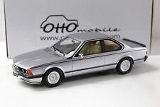 1:18 OTTO BMW 635 CSI E24 Coupe silver NEW bei PREMIUM-MODELCARS