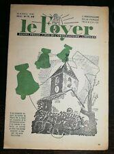 Le Foyer N 3323 13 avril 1941 ressuscité cloche Pâques Pat'apouf