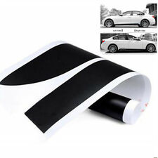 2x 2.15M Sport Performance Matte Black Side Skirt Decal Stripe Sticker for BMW
