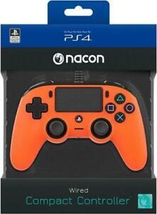 CONTROLLER NACON WIRED PS4 CON FILO PAD PLAY STATION 4 / PC ARANCIO JOYPAD NUOVO