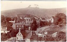 R.P. POSTCARD THE HILL TAVERN ON THE RIGHT-ADAMS HILL ABOVE CLENT VILLAGE-WORCS