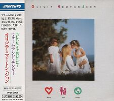 OLIVIA NEWTON-JOHN Warm And Tender FIRST JAPAN CD OBI PPD-9001