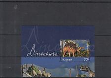 Gambia 2014 MNH DINOSAURI IV S / S kentrosaurus