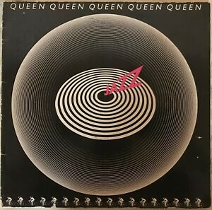 Queen – Jazz, Vinyl, 1. PRESS GERMANY 1975, incl. POSTER, OIS, Embossed
