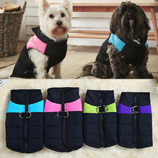 More details for pet dog puppy clothes coat jacket winter warm quilted padded puffer small vest