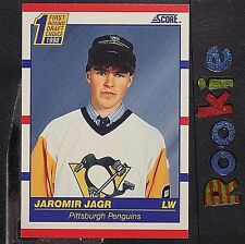 JAROMIR JAGR   RC  1990-91 Score  US  #428  ROOKIE  HOF  Pittsburgh Penguins