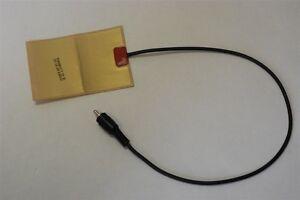 "NEW 12v 3w Flexible Heater Heating Foil Film Warmer Adhesive Back 4"" x 2.75"""