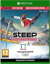 Steile Winterspiele Edition Xbox One-Weg zur Olympischen Spiel-NEU & VERSIEGELT