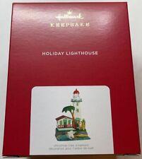 Hallmark 2021 Holiday Lighthouse Christmas Ornament with Light New with Box