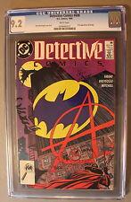 DETECTIVE COMICS #608 1st ANARKY Joker Son 1989 CW TV Arrow Season-4 CGC NM- 9.2
