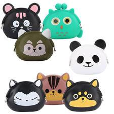 Kids Gift Wallet Mini Silicone Kawaii Coin Jelly Popular Purse Cartoon Animal UK