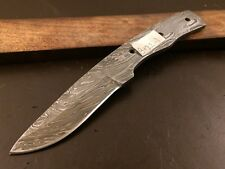 Handmade Pattern Welded Damascus Steel Blade Blank-Knife Making-Klinge-B122
