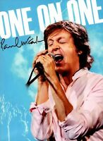 PAUL McCARTNEY 2017 ONE ON ONE TOUR CONCERT PROGRAM BOOK BOOKLET / NMT 2 MINT