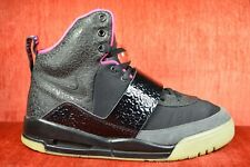 5e6552ec CLEAN Nike Air Yeezy 1 Blink Black Pink Size 9.5 366164-003 2009