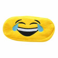 """LOL Emoji Pencil Bag, Fuzzy Pencil Storage Back to School Pencil Pen Case 8""""  2p"""