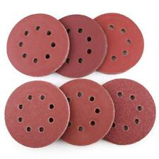 60Pcs 5 inch Sanding disc 40 60 80 100 180 240 Grit Assorted Sandpaper Hook Loop