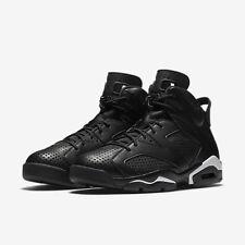 Nike Air Jordan Retro VI 6 Black Cat Men's Size 7-11 Black White 384664-020