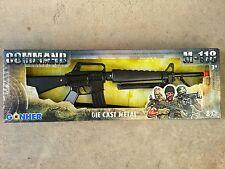 GONHER Die Cast Metal US Military M16 Assault Rifle Replica Cap Gun