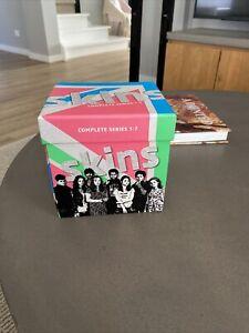 SKINS COMPLETE SEASONS SERIES 1, 2, 3, 4, 5, 6 & 7 DVD BOX SET Boxset R4