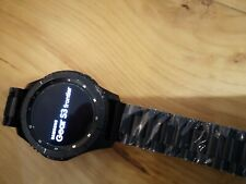 Samsung SM-R760 Gear S3 Frontier Stainless Steel Smartwatch - Black