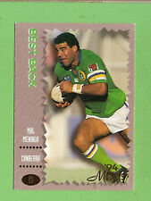 1994 MASTERS RUGBY LEAGUE CARD #13  MAL MENINGA, CANBERRA  RAIDERS