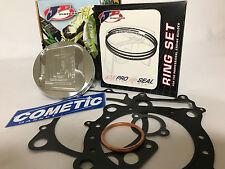 '04-05 TRX450R TRX 450R 94mm Stock Bore 13.8:1 2 Ring JE Hi Comp Piston Gaskets