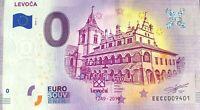 BILLET 0 EURO LEVOCA SLOVAQUIE   2019-1 NUMERO DIVERS