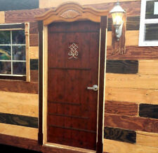 "New 36"" x 80"" Custom, Rustic, Solid Wood Entry Door ☆ Free Shipping!"