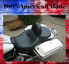 100% American Made Harley Davidson Drivers Backrest Road King Adjustable F/B
