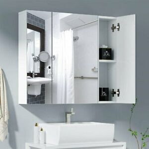 Spiegel Badspiegel Spiegelschrank Badezimmerspiegel Hängespiegel Weiß