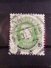 DANEMARK, 1930, timbre 197, ROI CHRISTIAN X, oblitéré