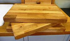 Large Handmade in Devon en chêne massif huilé à découper Board - 100% bois massif