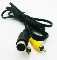 Sega Mega Drive MD 1 Genesis 1 Master System 1 RCA Phono AV Video AV Lead Cable