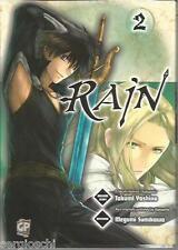 RAIN # 2 - TAKUMY YOSHINO-MEGUMI SUMIKAWA-GB PUBLISHNG-GIUGNO 2011 - RARO-MN2