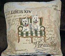 "Tache 2 Piece 18""  Dog Puppy Home Decor Accent Throw Pillow Cushion Cover Case"