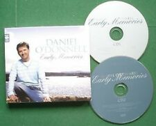 Daniel O'Donnell Early Memories Exc Cond Disc Front Insert Missing CD x 2