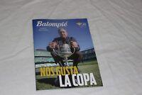 PROGRAMA DE MANO DEL REAL BETIS BALOMPIE DE LA COPA DEL REY  REAL SOCIEDAD