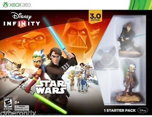 Disney Infinity STAR WARS Starter Pack XBOX 360 Anakin Ansoka Tano NEW in Box
