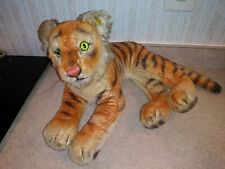 Steiff Original Tiger Cub #0910/28 Laying Down