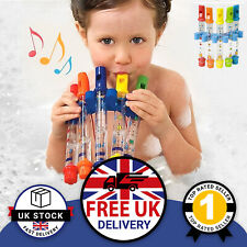5pcKids  Musical Water Flute Bath Toy Children's Fun Music Learning Play UK