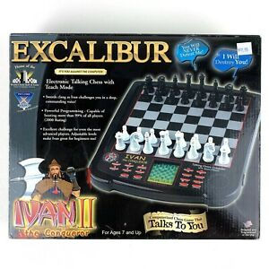 Excalibur Ivan II The Conqueror Talking Chess Game With Sound Complete Tested