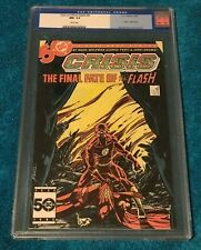 Crisis on Infinite Earths #8 CGC 9.2 NM Superman Death of FLASH Justice League