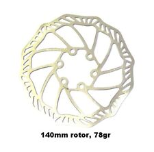 PROMAX ultra light stainless 140mm IS disc brake rotors, AVID/HAYES average 78gr