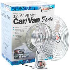 "12v 6"" Toda De Metal De Coche Furgoneta Ventilador Potente doble de alta velocidad de montaje de panel de control Enfriador De Aire"