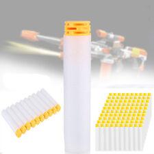 100 Clip Nachfüll Pfeile Refill Darts für Elite NERF N-Strike Spielzeug Weiß LI1