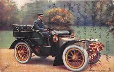 POSTCARD  CELEBRITIES  OF  THE  MOTORING  WORLD  Sir  Thomas  Lipton    TUCK